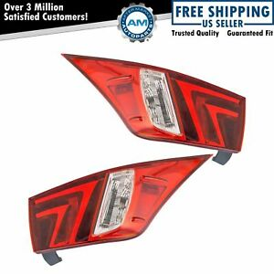 Tail Light Lamp Rear Outer Driver Passenger Pair For 14 16 Lexus Is250 Is350 New