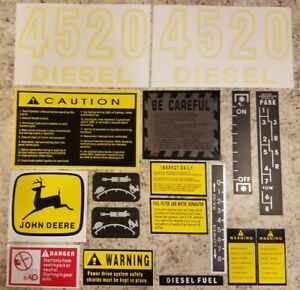 John Deere 4520 Decal Set