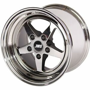Jms A1745175fz Avenger Racing Wheel 2005 16 Ford Mustang 2007 14 Shelby Gt500 Fr