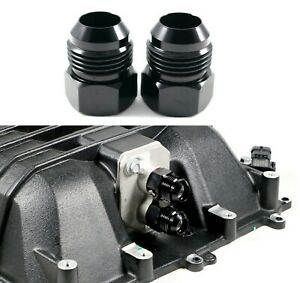 Cts v Zl1 6 2l Lsa Supercharger Coolant Line 12an Adapter Fittings cbw 082b