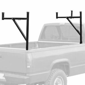Pickup Truck Side mount Utility Rack W Adjustable Support Arms 250 Lb Capacity