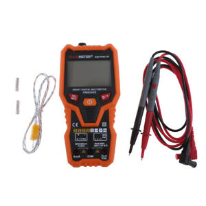 Pm8248s Lcd Digital Multimeter Volt Meter Ac Dc Voltage Continuity Tester