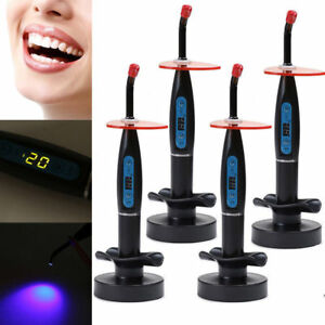 Lots Dental 10w Wireless Cordless Led Cure Curing Light Lamp 2000mw Silver Usa
