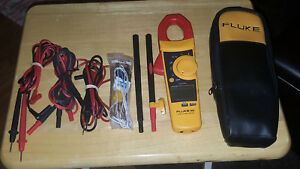 Fluke 902 True Rms Hvac Clamp Meter In Excellent Condition Extra Free S h L k