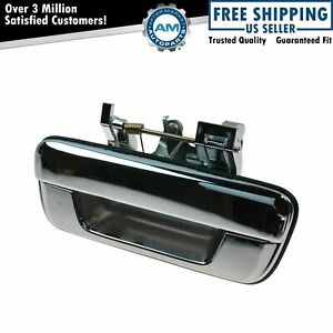 Tailgate Tail Gate Handle Chrome For 04 12 Chevy Colorado Gmc Canyon