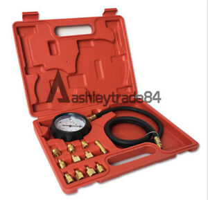 400psi Tu 11a Automatic Wave Box Transmission Engine Oil Pressure Tester Gauge