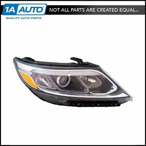 Halogen Headlight Lamp Assembly Rh Right Passenger For 14 15 Kia Sorento New