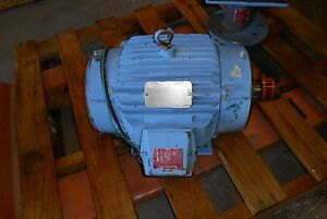 Reliance Electric 7 5 Hp Inverter Duty Variable Speed Motor Rpm 1765 2645 Used