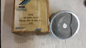 427 Ford Medium Riser Forged Piston Nos M6108 C427 030 Over