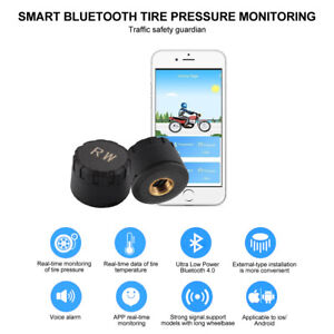 Motorcycle Bluetooth4 0 Tire Pressure Monitoring System Tpms For Phone Ma1574