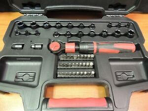 New Craftsman Sae And Metric 3 8 Socket Set With Case