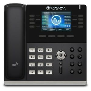 Sangoma Technologies Sgm s500 Mid Level 4 line Sip Phone 5 Way Conferencing