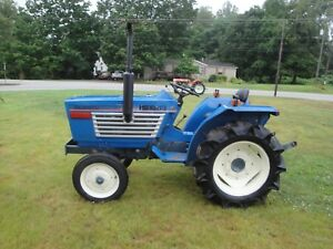Iseki Tl 2100 2wd Diesel Tractor With 1515 Hours
