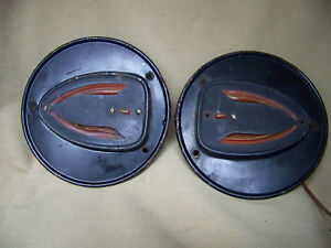 Two Vintage Griffin Lamp Co Turn Signal Hot Rod Rat Rod