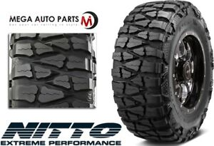 1 X Nitto Mud Grappler X terra 33x12 50r20 114q E 10 Extreme Mud Terrain Tires