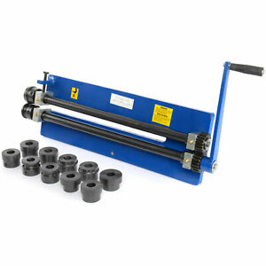 Jegs 81235 Bead Roller With Mandrels Vise Mount 17 Deep Throat