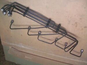 Oliver 88 super88 880 Farm Tractor Diesel Injection Lines Very Nice