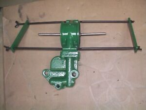 Oliver 77 88 Diesel Farm Tractor Dual Oil Filter Mounting Bracket