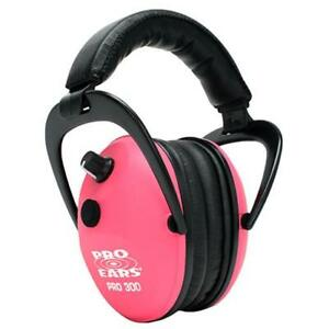 Pro Ears Pro 300 Hearing Protection Earmuffs Pink P300 pink