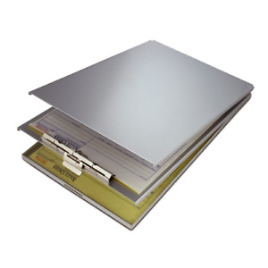 Saunders 10020 Aluminum Top Opening A holder Compartment 8 5 X 15 Clipboard