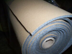 Auto Headliner Upholstery Fabric With Foam Backing 72 X 60 Saddle Tan Crafts