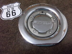 New Fittipaldi Chrome pewter Ring Wheel Center Cap M557d On Back Of Hub Oz