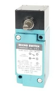 New Honeywell Microswitch Lsp3k Limit Switch 600vac 10a
