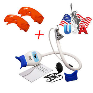 Dental Teeth Whitening Led Light Lamp Bleaching Accelerator With 2 goggles Fast