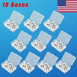 1000 Dental Latch Type Rubber Polishing Polisher Cup Prophy Firm White Usa Mh k
