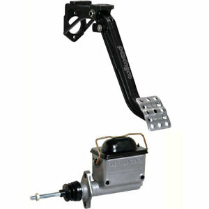 Wilwood 340 13834k3 Brake Or Clutch Pedal And Master Cylinder Kit Includes