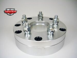 2 Wheel Spacers Adapters 4x4 25 To 5x4 5 2 Thick 4 Lug To 5 Lug 4x108 To 5x114