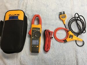 Never Used Fluke 376 Fc True Rms Ac dc Clamp Meter With I2500 18 Iflex Cable