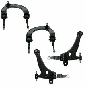 Control Arm Ball Joint Kit Front Upper Lower Lh Rh Set Of 4 For Kia Hyundai New