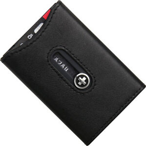 Wagner Of Switzerland Sw750 Wallet Black Trim Holds 5 Credit id business Card