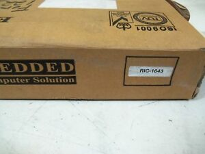 Embedded Computer Solution Ric 16430 Board new In Box