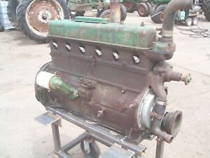 Oliver 77 super77 770 Farm Tractor Gas Motor Runs Great