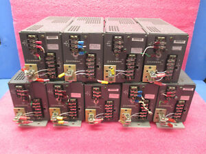 Lot Of 9 Lambda Lrs 55 24 Regulated Power Supplies