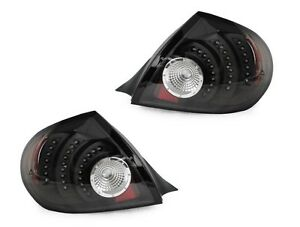 Depo No Error Led Pair Black Altezza Style Tail Light For 2003 2005 Dodge Neon