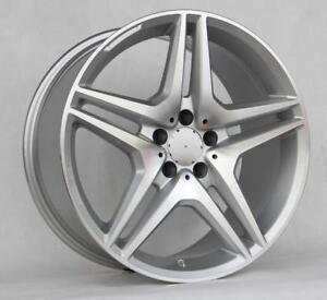 19 Wheels For Mercedes S class S550 S600 S63 S65 staggered 19x8 5 9 5