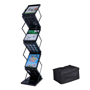 Collapsible Literature Stand Brochure Holder 6 Pocket 27452