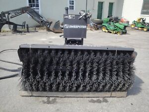 Very Nice Sweepster 7 Foot Hydraulic Angle Broom
