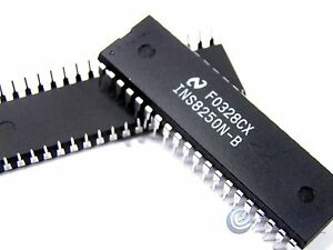 25pcs Ic Ins8250n b Ic Ins8250 Dip 40 Communication Interface