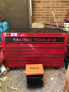 Snap On Matco Tool Box Full Of Tools Almost Brand New