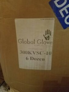 Global Glove 300kv Ice Gripster made With Kevlar Rubber Glove Cut Resistant