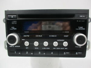 10 2010 Honda Element Am Fm Satellite Radio Mp3 Cd Player Oem
