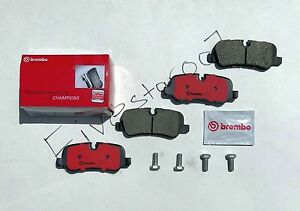 Brembo Rear Pads Back Disc Brake Pad Set For Land Rover Range Rover And Sport