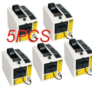 5pcs Automatic Tape Dispensers Adhesive Tape Cutter Packaging Machine Ac 110v