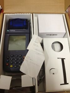 Verifone Nurit 8000 Credit Card Machine With Accessories Free Shipping