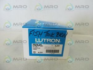 Lutron Nf 10 Dimmer Fluorescent as Pictured new In Box