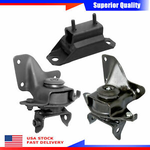 Westar 3pcs Engine Motor Trans Mount Set For Ford Mustang Lx Standard